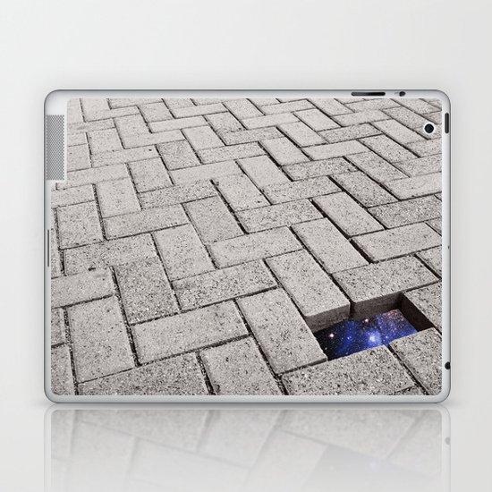 Holes in the Fabric Laptop & iPad Skin