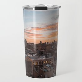 Autumn sunset Travel Mug