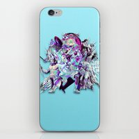 lebron iPhone & iPod Skins featuring LEBRON MVP 2013 by mergedvisible