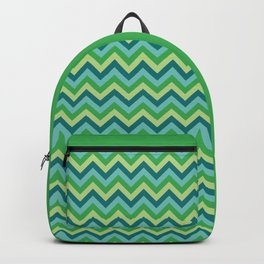 Verdes Zig Zag Backpack