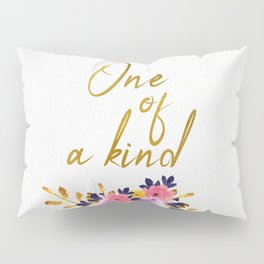One of a kind - Flower Collection Pillow Sham