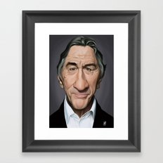 Celebrity Sunday - Robert De Niro Framed Art Print