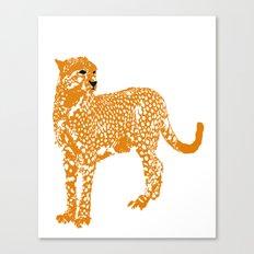 Mighty Cheetah  Canvas Print