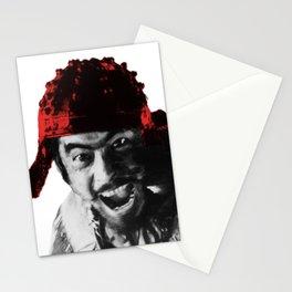 shichinin no samurai Stationery Cards