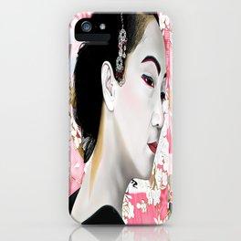 Geisha (芸者) by A.Harrison iPhone Case