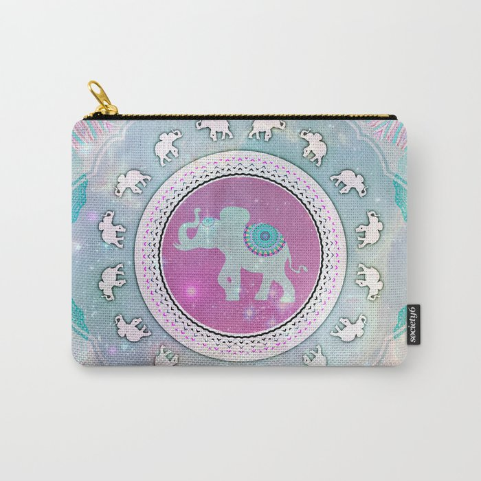 MAGIC HAPPY ELEPHANT Carry-All Pouch