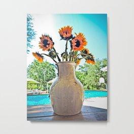 Texas Sunflower Metal Print