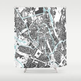 Ghent City Map I Shower Curtain