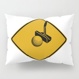 Putting Crossing Pillow Sham