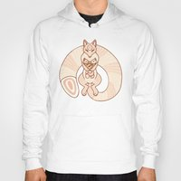 mom Hoodies featuring Mom by Berneri