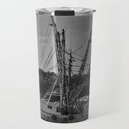 Old Shrimp Boats Travel Mug