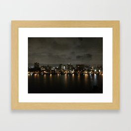 puerto rico skyline Framed Art Print