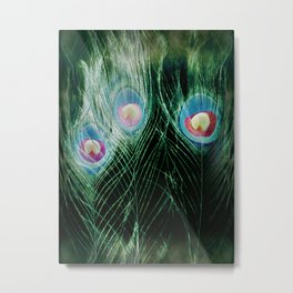 Three Eyes Metal Print