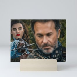 lena luthor -musketeer Mini Art Print