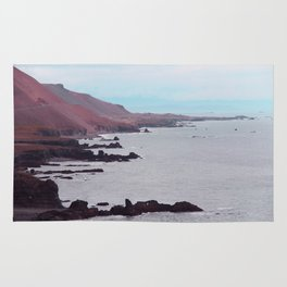 Iceland beach Rug