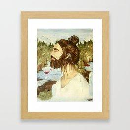 The Found Traveler Framed Art Print