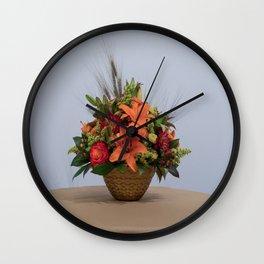 Floral arrangement 1 Wall Clock