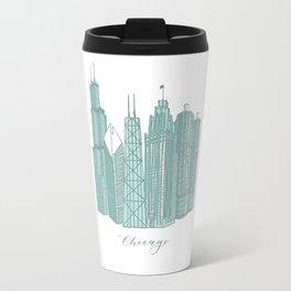 Chicago Architecture Travel Mug