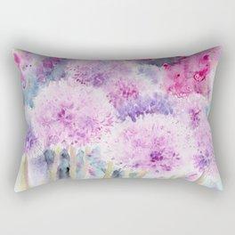 Alliums and Foxgloves Rectangular Pillow