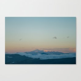 Pikes Peak in the Distance Canvas Print