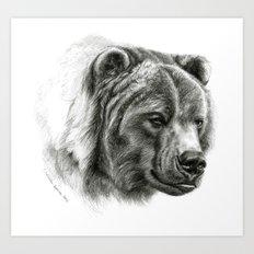 Brown Bear G2012-054b  Art Print