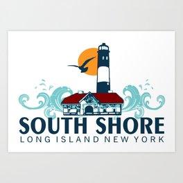 South Shore - Long Island. Art Print