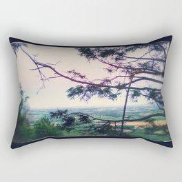 Vintage View Rectangular Pillow