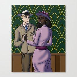 Bernice and Howard Dance Canvas Print