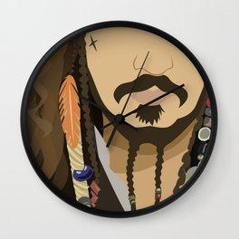 Sparrow Lips Wall Clock