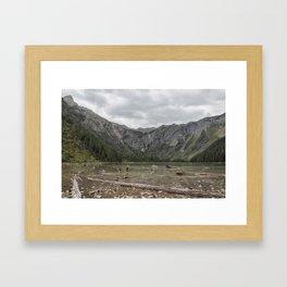 Avalanche Lake No. 1 - Glacier NP Framed Art Print