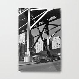 Under the Bay Bridge Metal Print