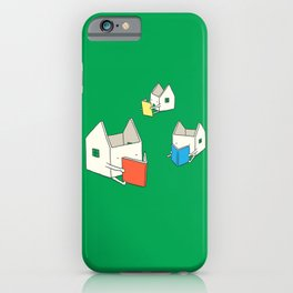 Every house has it's own story iPhone Case