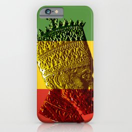 Selassie I iPhone Case