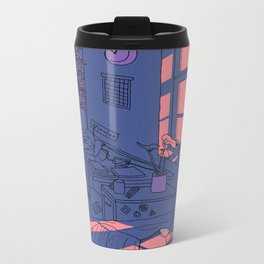 Lazy Day Metal Travel Mug