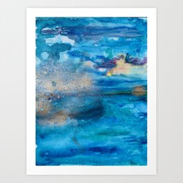 Save The Oceans, Cabo Beaches 2 Art Print