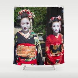 Geishas in Japan Shower Curtain