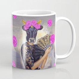 Flamenco-dancer with hand fan Coffee Mug