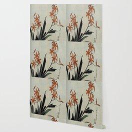 Hokusai, red orchid -manga, japan,hokusai,japanese,北斎,ミュージシャン Wallpaper