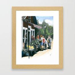 Daisy Shopping Framed Art Print
