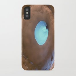Water on Mars Photograph iPhone Case