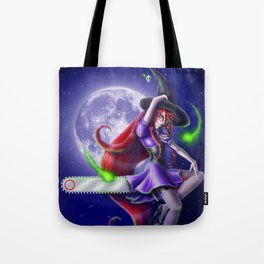 Witchy Grell Tote Bag