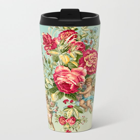 vintage Metal Travel Mug