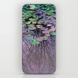 Dreamy Water Lily  Pond iPhone Skin