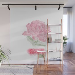 Botanical Brushstrokes ● Peony Pastel Wall Mural