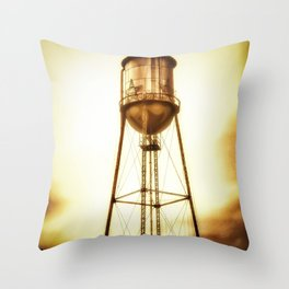 Texas Water Tower Throw Pillow