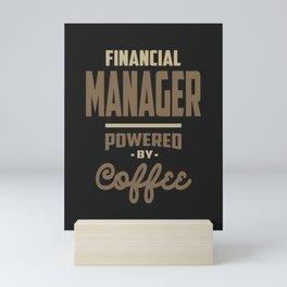 Financial Manager Mini Art Print