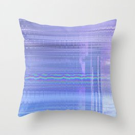Glytch 07 Throw Pillow