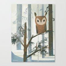 Day Owl Canvas Print