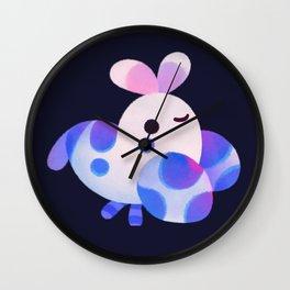Harlequin shrimp and crab Wall Clock