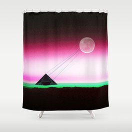 Communicating -Two way traffic Shower Curtain